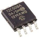 Фото 2/3 PIC12C508A-04/SM, Микроконтроллер 8-Бит, PIC, 4МГц, 768Б (512x12) OTP, 5 I/O [SO-8]