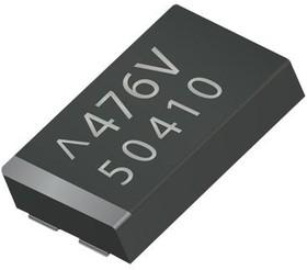 TCN4227M025R0100E, Cap Tant Polymer 220uF 25VDC 4 CASE 20% (7.3 X 6.1 X 2mm) Undertab SMD 7361-20 0.1 Ohm 105°C T/R