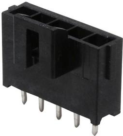 172286-1105, Разъем типа провод-плата, 3.5 мм, 5 контакт(-ов), Штыревой Разъем, Ultra-Fit 172286 Series