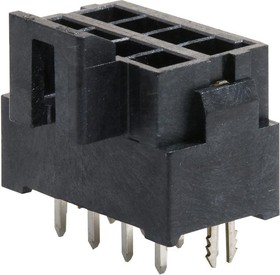 172299-1108, Разъем типа провод-плата, 3.5 мм, 8 контакт(-ов), Штыревой Разъем, Ultra-Fit 172299 Series