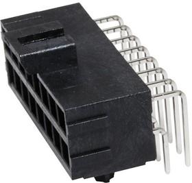 172316-1116, Разъем типа провод-плата, 3.5 мм, 16 контакт(-ов), Штыревой Разъем, Ultra-Fit 172316 Series