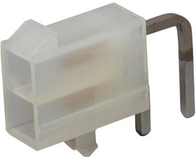 39-30-1021, Разъем типа провод-плата, 2 контакт(-ов), Штыревой Разъем, Mini-Fit Jr. 5569 Series