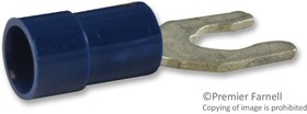 19142-0030, Клемма типа вилка / ножевая, InsulKrimp 19142 Series, 16AWG до 14AWG, 2.5 мм², M4, #8