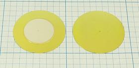 Пьезоэлектрическая диафрагма на тонкой бронзовой основе диаметром 41мм и толщиной 0.2мм; пб 41x0,22\\D\ 0,7\2C\VS-41T-07A1\VOISE