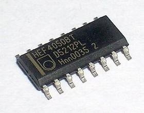 Фото 1/3 HEF4050BT.652, Шесть преобразователей уровня [SO-16]