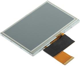 "Фото 1/2 MIKROE-1401, 4.3 TFT Color Display 480x272 with Touch Screen"", Цветной TFT дисплей с сенсорным экраном 4.3"""