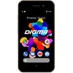 Смартфон Digma Q401 3G HIT 8Gb 1Gb золотистый моноблок 3G ...