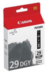 Картридж CANON PGI-29DGY 4870B001, темно-серый