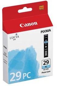 Картридж CANON PGI-29PC 4876B001, фото голубой