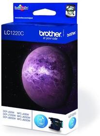 Картридж BROTHER LC1220C голубой