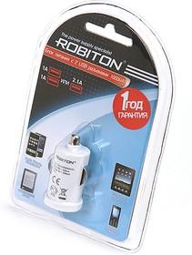 Фото 1/2 TwinUSB1000/AUTO, Блок питания автомобильный с двумя USB разъёмами, 1А (адаптер)