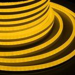 131-051, Гибкий Неон LED SMD, жёлтый, 120 LED/м, бухта 50м