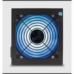 Блок питания Aerocool ATX 850W KCAS-850G 80+ gold (24+4+4pin) APFC 120mm fan color LED 7xSATA RTL