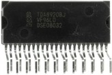 TDA8920BJ/N2.112, УНЧ 2 x 100 W class-D power amplifier, [HZIP-23]