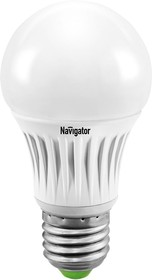 NLL-A55-8-230- 2.7K-E27-DIMM (94375), Лампа светодиодная диммируемая (грушевидная) 8Вт 220В (теплый)