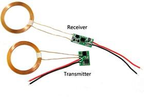 Фото 1/2 Wireless Charging Module- 5V/600mA, Беспроводной зарядный модуль