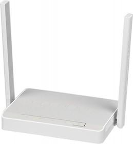 Фото 1/6 Роутер беспроводной Keenetic Omni N300 10/100BASE-TX/4G ready белый