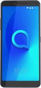 """Фото 1/3 Смартфон Alcatel 5099D 3V 16Gb 2Gb черный моноблок 3G 4G 2Sim 6.0"""" 1080x2160 Android 8.0 12Mpix 802.11 a/b/g/n GPS GSM900/1800 GSM1900 MP3 A"""