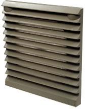 JLVFP-801,решетка вент.с фильтром 106х106мм