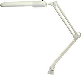 Дельта (белый), Светильник настольный на струбцине (энергосберегающая лампа)