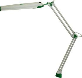 Светлана (серо-зеленый), Светильник настольный на струбцине (энергосберегающая лампа)