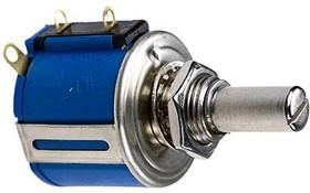 Фото 1/2 3540S-1-101L, 100 Ом, Резистор прецизионный многооборотный