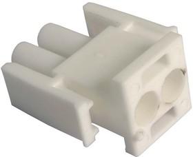 350777-1, Корпус разъема Universal MATE-N-LOK, вилка 2PIN, In-Line (Nylon, UL 94V-0) без контактов