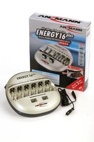 Ansmann ENERGY 16 (PLUS), Устройство зарядное для 1-16 АА/ААА/C/D,крона Ni-MH/Ni-Cd,