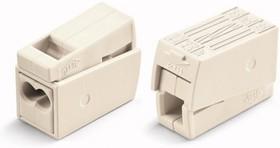 224-112, Клемма для осветительного оборудования (1.0-2.5)х2/(0.5-2.5) кв.мм