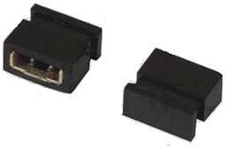 MJ2-4 (MJ2-3.5), Джампер 2х3.5мм 2-контактный закрытый