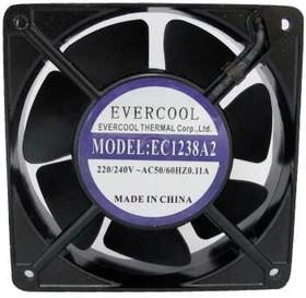 EC1238A2HBL-7, Вентилятор 220В, 120х120х38мм гибкий вывод , подш. качения, 2500 об/мин