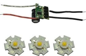 STAR1W-10WW1, Набор для осветительного модуля, белый