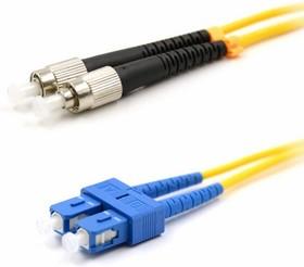 50-2809-1, Патч-корд оптический переходной (SM), 9/125 (OS2), SC/UPC-FC/UPC, (Duplex), PVC, 1м