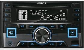 Автомагнитола CD Alpine CDE-W296BT 2DIN 4x50Вт