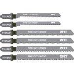 Набор пилок FIT 41012 набор полотен д/электролобзика 6 шт (t101brfx2 ...