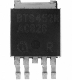Фото 1/4 BTS452R, Интеллектуальный ключ верхнего уровня, [TO-252-5]