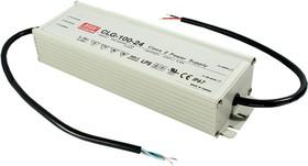 Фото 1/2 CLG-100-24, AC/DC LED, 24В,4А,96Вт,IP67 блок питания для светодиодного освещения