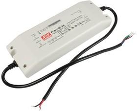 Фото 1/2 PLN-100-24, AC/DC LED, 24В,4А,96Вт,IP64 блок питания для светодиодного освещения