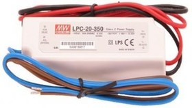 LPC-20-350, AC/DC LED, 9-48В,0.35А,16Вт,IP67 блок питания для светодиодного освещения
