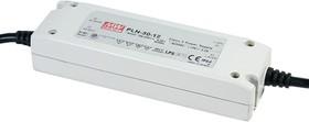 PLN-30-24, AC/DC LED, 24В,1.25А,30Вт,IP64 блок питания для светодиодного освещения