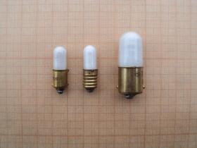 ТЛО-1-2 цок.Е10/13, Лампа индикаторная оранжевая