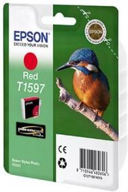 Картридж EPSON C13T15974010 красный