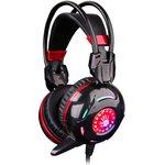 Наушники с микрофоном A4 Bloody G300 черный/красный 2.2м ...