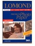 Фотобумага Lomond 1106301 A4/260г/м2/20л./белый полуглянцевое для струйной печати