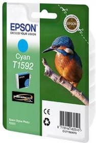 Картридж EPSON T1592 голубой [c13t15924010]
