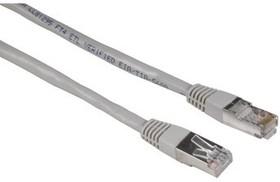 Патч-корд HAMA H-30593 STP, cat.5E, 5м, 1 шт, серый