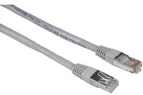 Патч-корд HAMA H-30592 STP, cat.5E, 3м, 1 шт, серый