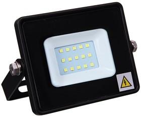 601-306, Прожектор светодиодный тонкий, 10Вт Теплый Белый