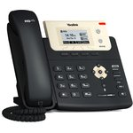 Телефон SIP Yealink SIP-T21P E2 черный