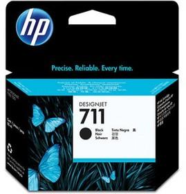 Картридж HP №711 CZ133A, черный